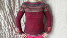 IVKO 100% wool multicolored jumper sweater size 40 M/L