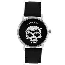 Laurels Phantom Analog Black Dial Men's Watch - Lo-Phtm-0202