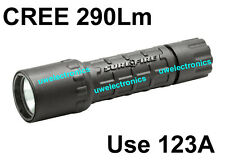 Nitrolon Single Output Extremely Durable CREE LED Surefire G2 6P 123A Flashlight