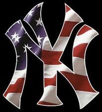 2 New York Yankees Window Vinyl Decal Car Bumper STICKER  5.3x4.9 USA Full Color