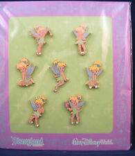 Disney Trading Pins TINKER BELL Mini Various Poses CUTE  Booster Set of 7