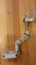"""ICW Dental Pivoting Double Articulating 2"""" Post Mount (Gray) for Flat Monitor"""