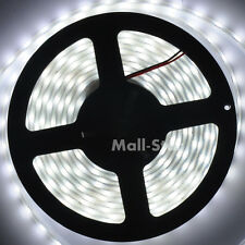 5050 SMD Cool White 60LED/M IP68 Waterproof LED Strip Lights Lamp 5M DC 12V