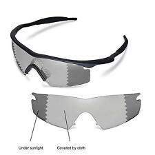 New Walleva Polarized Transition/Photochromic Lenses For Oakley M Frame Strike