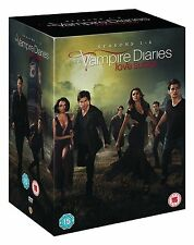 THE VAMPIRE DIARIES SEASONS 1-6 COMPLETE DVD BOX SET NEW SERIES 1 2 3 4 5 6