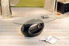 Couchtisch schwarz hochglanz Glastisch Wohnzimmertisch Wohnzimmer Tisch modern