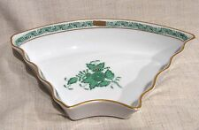 Herend Chinese Bouquet Green Side Dish for 7 Pc Hors d'oeuvres Tray