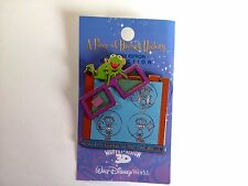 Piece of Disney History 2005 (Muppet Vision 3-D) Pin rare