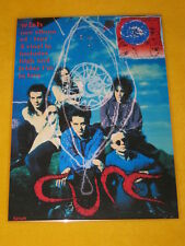 The Cure - Wish -  Laminated Promo Poster