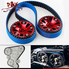 Timing Belt +Cam Gear Pulley for Honda B18C Integra GSR 94-01 /Type-R 97-01 Red
