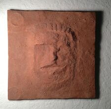 Cydonia, Face on Mars Display Plaque, Sandy Textured like Mars, Very Detailed