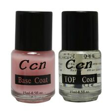 Professional Base Coat Top Coat for Acrylic Nail Art False Tip Polish 15ml