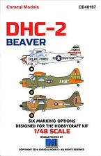 Caracal Decals 1/48 DE HAVILLAND DHC-2 BEAVER