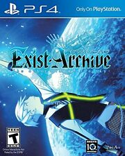 Exist Archive: The Other Side Of The Sky [PS4 Playstation 4 Exclusive RPG] NEW