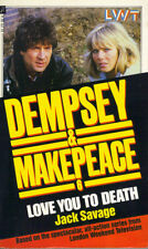 DEMPSEY & MAKEPEACE 6 - LOVE YOU TO DEATH - JACK SAVAGE - PB 1986 1st Edn - VG