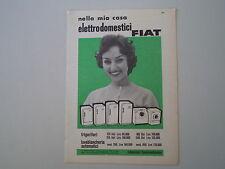 advertising Pubblicità 1959 FIAT FRIGORIFERI/LAVATRICE
