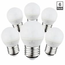 BLUEFIRE 4W G14 LED Bulbs, 360 Lumens, 5000K/ Daylight, 6-PACK (Non-Dimmable)