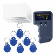 New Handheld RFID ID Card Copier/ Reader/Writer 6 Writable Tags/6 Cards NR