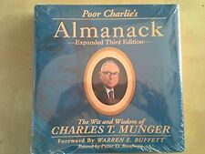 Poor Charlie's Almanack : The Wit and Wisdom of Charles T Munger BRAND NEW