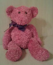 Russ Berrie Pink Sparkling Teddy Bear Expressly for Target 14.5""