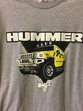 Hummer H2 T-Shirt Size Large Cars SUV's Short Sleeve Expensive Vehicles