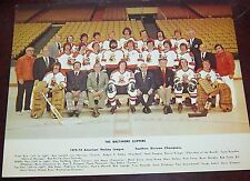 Baltimore Clippers Hockey Team Photo 1973-1974  from the Woody Ryan Collection