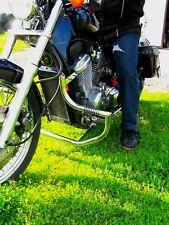 Honda Vt 600 / Vlx 600 Shadow Acero Inoxidable Custom Crash Bar Guardia Con Clavijas