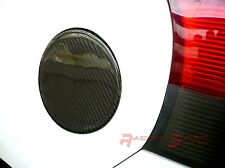 REAL GLOSSY CARBON FIBER FUEL DOOR COVER FOR 07-11 YARIS VITZ HATCHBACK XP90 JDM