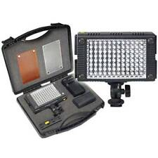 96 LED Video Light Kit Battery Charger Case for Panasonic AG-AC130 AG-AC160