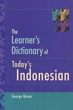 THE LERNER'S DICTIONARY OF TODAY'S INDONESIAN