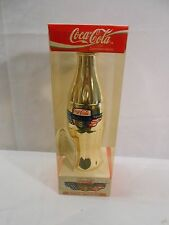 1996 Coca Cola Atlanta Olympics Commemorative Gold Plated Bottle Limited Edition