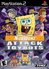 Nicktoons: Attack of the Toybots - Playstation 2 Game Complete