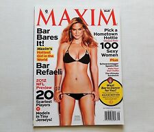 Bar Rafaeli Maxim Magazine September 2012 New
