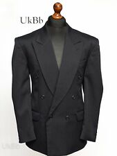 **Sale** Horne Brothers Navy Blue Suit Jacket Double Breasted 40S Short