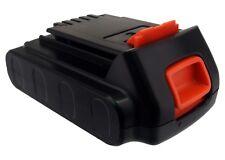 UK Batteria per BLACK & DECKER LCS120 LB20 LBX20 20,0 V ROHS