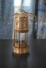 "6"" New Antique Vintage Style Brass Nautical Miner Ship Lantern Oil Lamp Maritime"