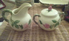 Vintage 1960's/70's Franciscan Desert Rose Cream and Sugar service- excellent