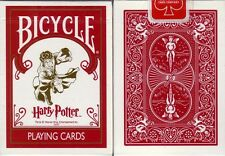 1st Edition Bicycle Harry Potter Playing Card Decks W/3 Jokers Ohio Made!