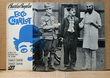 ECCO CHARLOT fotobusta poster affiche lobby card Charlie Chaplin Charlot
