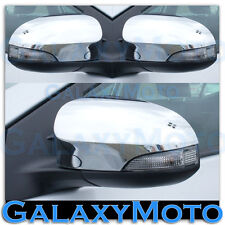 2012-2015 Toyota Camry Triple Chrome plated Mirror with Turn Signal Cover Trim