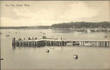 Onset Cape Cod MA The Pier c1910 Postcard
