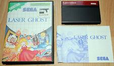 LASER GHOST Sega Master System / Complet / Fr / envoi gratuit