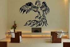 Wall Room Decor Art Vinyl Sticker Mural Decal Tribal Flame Bird Phoenix FI527