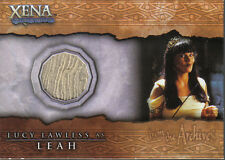 XENA BEAUTY AND BRAWN COSTUME CARD C8 LUCY LAWLESS AS LEAH