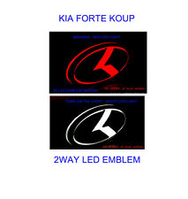 LED EMBLEM KIA K LOGO FRONT OR REAR POSITION FOR KIA 2009-12  FORTE KOUP