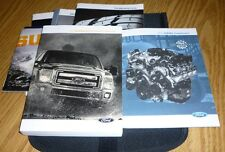 2014 FORD F SUPER DUTY OWNERS MANUAL SET 14 GUIDE F250 F350 w/case DIESEL