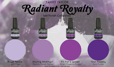 "BRAND NEW ""RADIANT ROYALTY""  4 BEAUTIFUL GELEGANCE GEL POLISH COLORS"