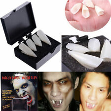 Halloween White Vampire Dracula Fangs Caps Teeth Fancy Dress