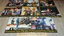 MANHATTAN PROJECT  !  jeu photos cinema lobby cards fantastique