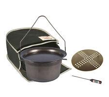 Hillbilly BushRanger 7.5L campoven start kit in canvas bag FREE meat thermometer